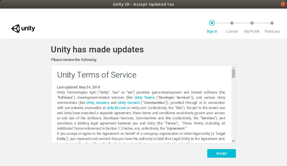 Unity on Ubuntu · MemoryLapse
